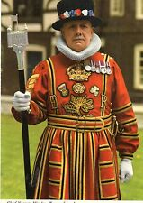 Postcard  London Chief Yeoman Wader at Tower of London  unposted John Hinde 3L43