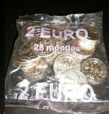 BAG OF 25 COINS NORMAL 2 EURO 2002 - PORTUGAL 2002