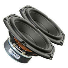 """Pair Peerless 830656 5.25"""" Paper Cone SDS Woofer 8ohm 110W 84.5dB 1""""Coil"""