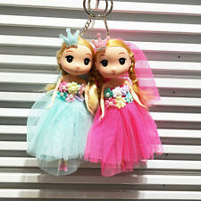 Cute Doll Pendant Dress Bag Key Buckle Plastic Toys 18CM Fashion Tool Set