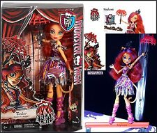 Monster High FREAK DU CHIC Doll TORALEI WereCat A ScareDevil without Fear Circus