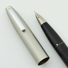 Sheaffer Imperial II Deluxe Fountain Pen - Black, Fine, Touchdown, NEW OLD STOCK