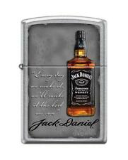 Zippo 8589, Jack Daniels Tennessee Whiskey Old No. 7, Street Chrome Lighter