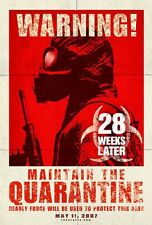 28 WEEKS LATER MOVIE POSTER 1 Sided ORIGINAL Advance 27x40 JEREMY RENNER