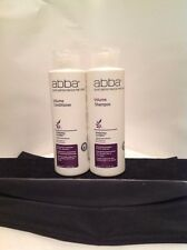 Abba Pure Performance Hair Care - Volume Conditioner + Shampoo DUO 8 OZ - UNISEX