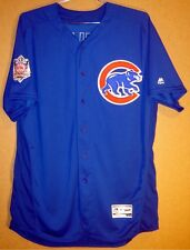 CHICAGO CUBS CLAYTON RICHARD GAME USED BLUE 2016 JERSEY
