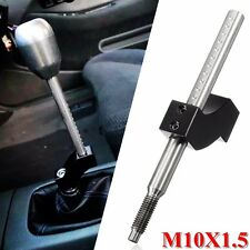 Shift Knob Extender Extension Lever Gear Shifter M10X1.5 for Honda Black