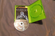 Origi Xbox game Chronicles of Riddick Escape from Butchers Bay Case/Book C More!