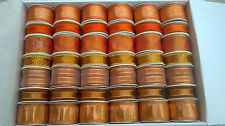 5 rolls Metallic Fabric Ribbon for Gift wrapping, arts & crafts. Various Designs