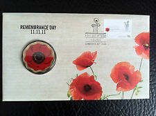 2011 $5 11/11/11 REMEMBRANCE DAY RED POPPY PNC