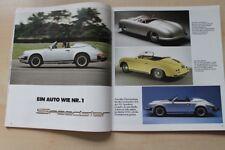 Christophorus Nr. 208/1987 Genialer Wagen! Porsche 911 Speedster in einer selten