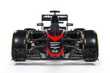 2015 MCLAREN HONDA MP4-30 FORMULA 1 F1 RACE CAR POSTER PRINT 24x36 HI RES