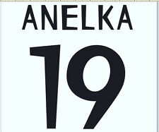 Real Madrid 1998-2000 Anelka Home  Football Name set for National shirt