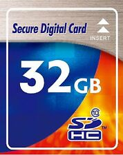 32 GB SDHC SD Speicherkarte Class 10 High Speed für Digital Kamera