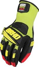 Mechanix Wear ORHD CR3 KNIT Gloves YELLOW LARGE (10)