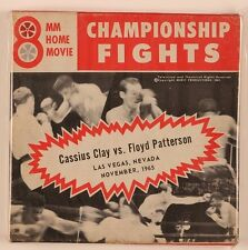 Cassius Clay vs Floyd Patterson Fight Nov 1965 Las Vegas 8mm Home Movie Film Ali