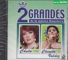 Chelo,Chayito Valdez Las 2 Grandes de La Musica Ranchera CD New Nuevo sealed