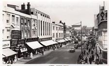 Luton George Street Woolworth George Hotel RP old pc used  Masons