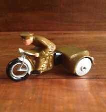 Barclay Conversion Of B93 Motorcycle Dimestore Toy Soldier Manoil Grey Iron