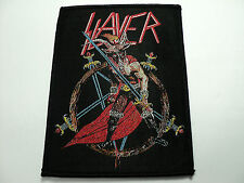 SLAYER  WOVEN  PATCH