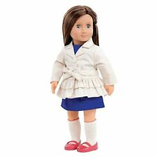 "Our Generation 18"" Lilia Doll Brown Hair Blue Eyes Fits American Girl Grace"