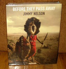 New Sealed Jimmy Nelson Before They Pass Away Original HC DJ Tribal Cultures