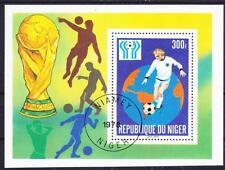 El fútbol Trofeo World Cup níger bloque 20, Soccer Jessi Rask, Vandersanden. 1978