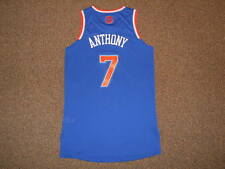 Carmelo Anthony New York Knicks Blue Adidas Rev 30 Authentic Jersey sz L +2 NYK