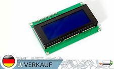 I2C 2004 20x4 Zeichen LCD Display HD44780 blaues BL für Arduino Raspberry Pi