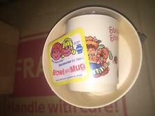 DEKA BOWL AND MUG SET BRAND NEW FACTORY SEALED AND COMES WITH ORIGINAL SHIPPER