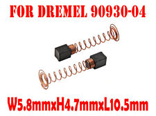 Carbon Brushes For DREMEL 90930-04 100 200 215 275 285 300 395 595 6000 7200