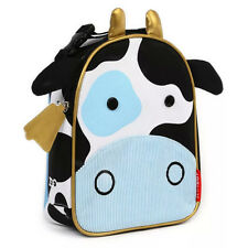 Skip Hop Zoo Lunchie Cow Insulated Lunch Bag for Children Ages 3+