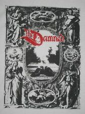 VTG THE DAMNED 80s T-SHIRT ORIGINAL TOUR CONCERT TEE PUNK ROCK BAND