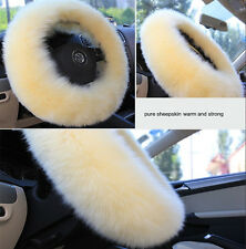 Winter Steering Wheel Covers Wool Heated Steering Wheel Cover Plush Covers Kits
