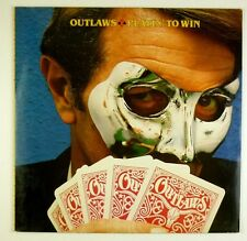 "12"" LP - Outlaws - Playin' To Win - B1139 - washed & cleaned"