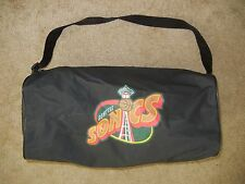 Vtg SEATTLE SUPER SONICS Black Athletic BASKETBALL BAG Gym Travel Duffle NBA