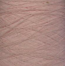 ACRYLIC 5/2 COTTON LIKE 2550 YPP LACE WEIGHT CONE YARN 1 1/4 LBS PINK (A5/2)