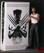 "12"" X-men Wolverine PVC Action Figure Collectible Model Toy +Box Hot toys"