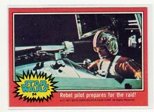 1977 Star Wars Series 2 red Single Card #84 NM straight from a wax Pack