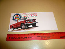 Jeep Gladiator Townside Pick-Up Truck Sales Brochure