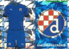 QFC1 CLUB LOGO - HOME KIT GNK DINAMO ZAGREB STICKER CHAMPIONS LEAGUE 2017 TOPPS