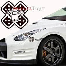 1PC Funny JDM Domo Band-aid Reflective Vinyl Motorcycle Car Sticker Decal