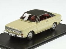 Neo Ford Taunus P6 15M 1968 White/Black 1:43 (43333)