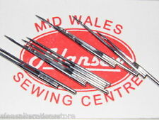 INDUSTRIAL OVERLOCK SEWING MACHINE NEEDLES B27 SIZE 14 BROTHER/JUKI/SINGER/ETC.