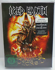 Iced Earth Festivals Of The Wicked Limited Deluxe box DVD + CD + POSTER - NEW
