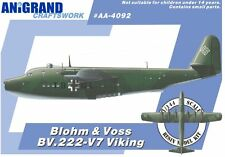 BLOHM & VOSS BV.222 VIKING (+DM Jaeger/DFS-346++) ANIGRAND 1/144 RESIN KIT