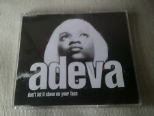 ADEVA - DON'T LET IT SHOW ON YOUR FACE - UK CD SINGLE