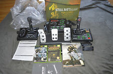 Steel Battalion Xbox Controller & Game +Sequel +Guide +Extras COMPLETE IN BOX