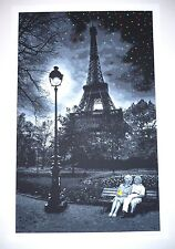Roamcouch print When you Wish Upon a Star Paris Eiffel Tower 15 colors! Venice