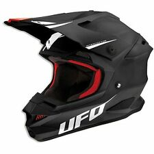 CASCO MOTO CROSS Ufo Interceptor Prime Nero 2015 TG S
